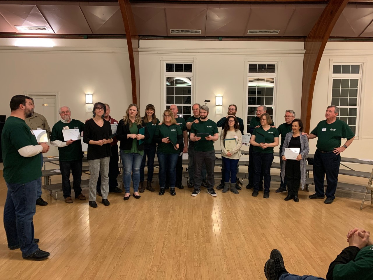 New Members and Renewals, February 2020